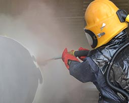 blasting and painting company