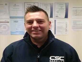 Mark Lemon, Managing Director, CSC Services
