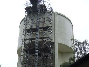 Relining to water tower