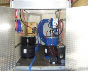 CSC Services' Graco Reactor Hot Spray System