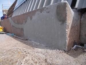 Patch concrete repairs