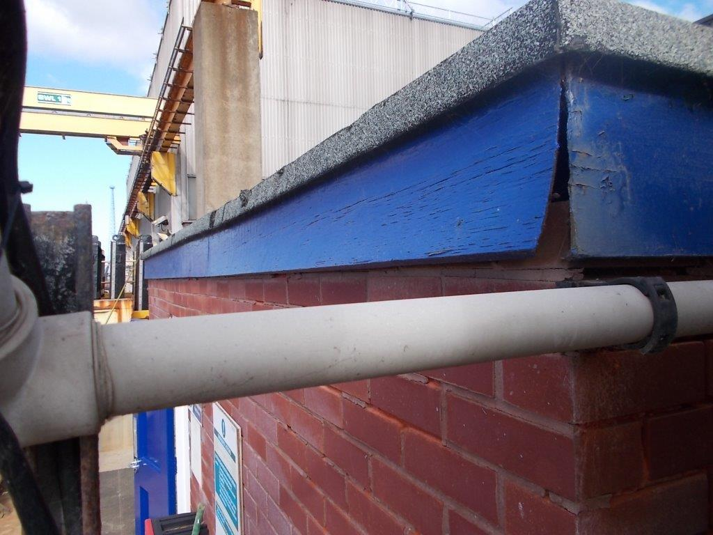 Failed fascia boards to be removed