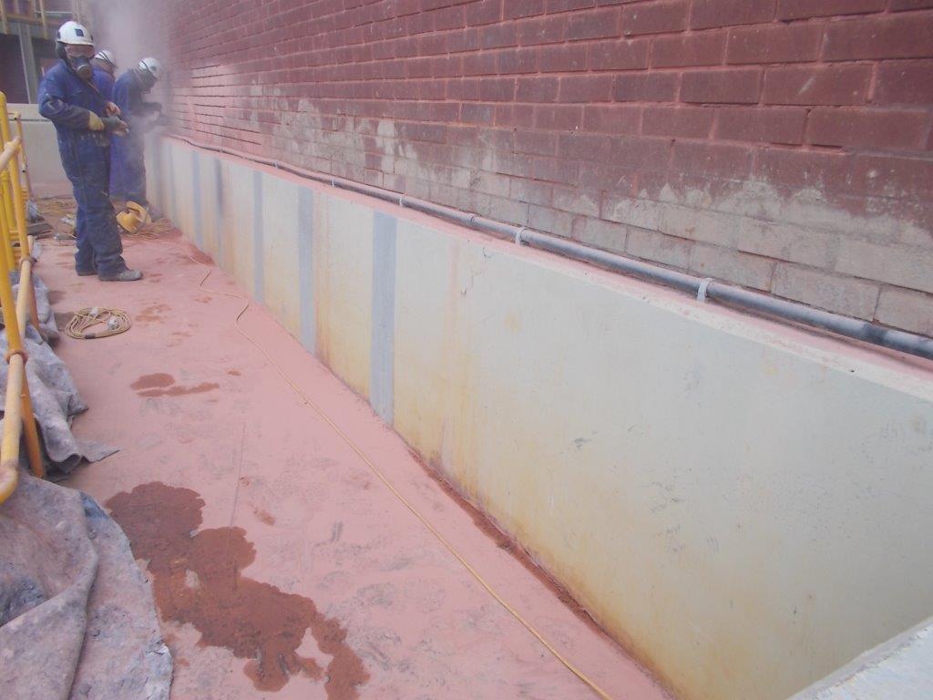 Brickwork repointed