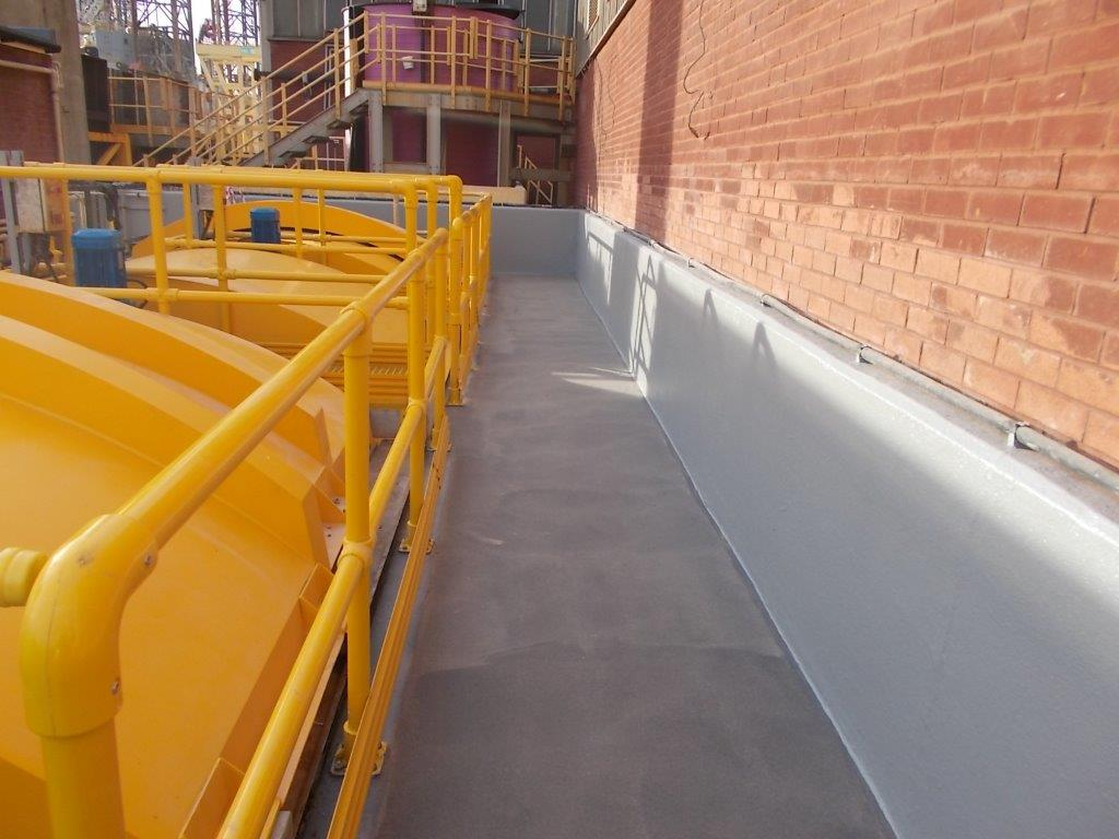 Sikalastic 525 system with anti-slip finish