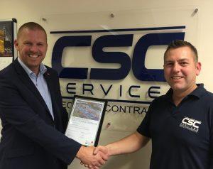 QA Contractor certificate