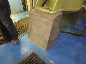 Plinth with Carbon Fibre Wrapping
