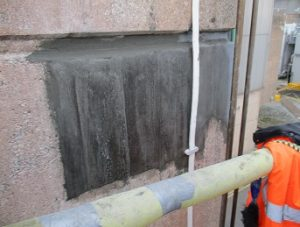 concrete repair - repair reinstated