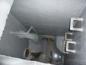 Cemementitious coating system at Dungeness B Power Station