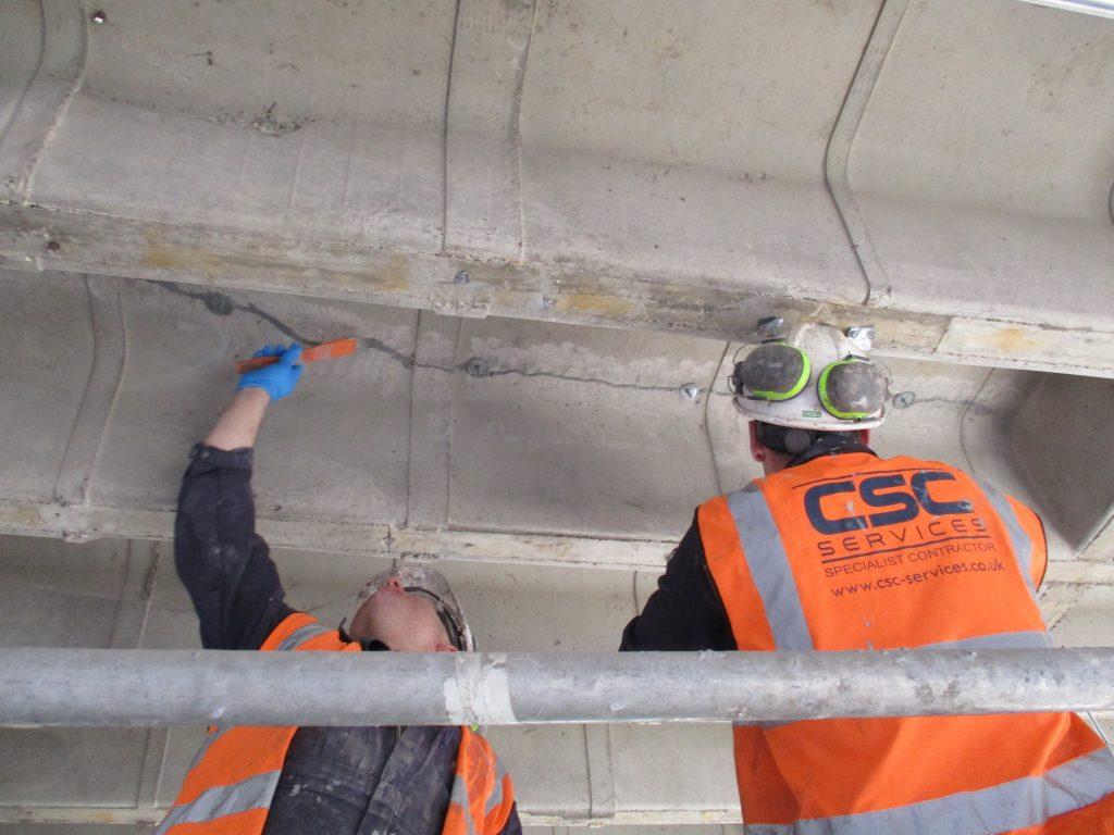 epoxy resin concrete repair