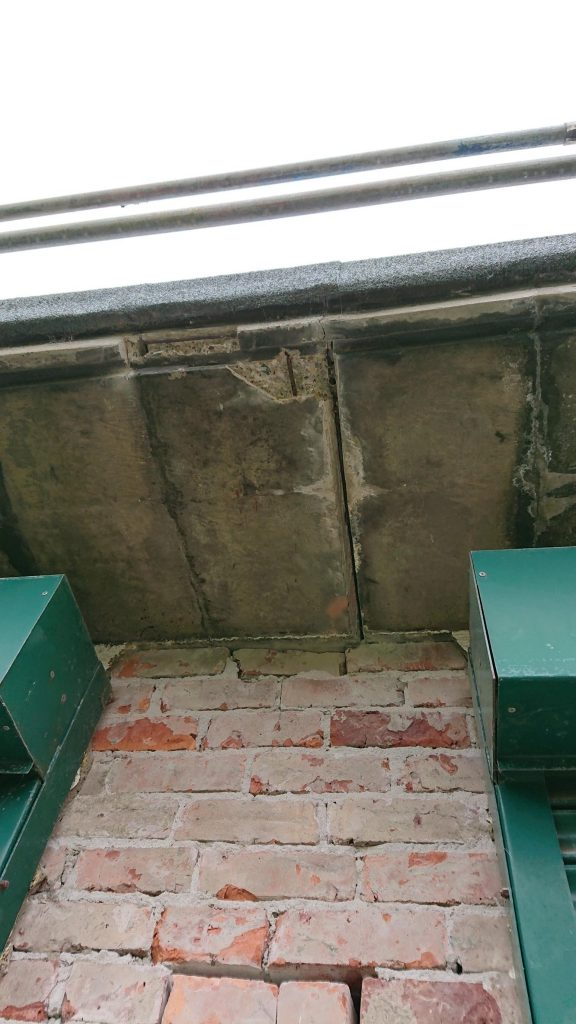 2. Restoration of concrete at Marine Park