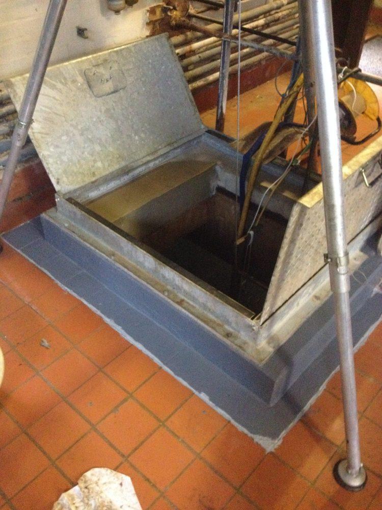 reservoir upstand refurbishment